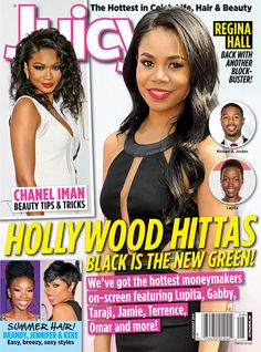 Regina Hall, Chanel Iman, Brandy and Jennifer Hudson cover July/August issue of Juicy magazine