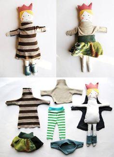 riciclare abiti bambini small for big