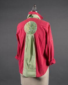 PDF: Sandy Blouse Pattern. Transforms dress shirts by Paganoonoo