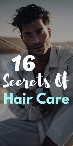 16 Secrets of Hair Care Hair Care Routine, Hair Care Tips, Vintage Hairstyles Tutorial, Hair Secrets, Hair Transplant, Wet Hair, Cool Haircuts, Hair And Beard Styles, Hair Health