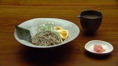 Soba Noodles With A Six Minute Egg