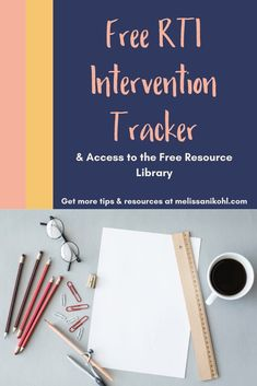 We know all students are different. Differentiate your instruction to meet student needs. Then this freebie to help keep track of your RTI interventions. See ultimate student growth this school year! #differentiation #rti #studentgrowth
