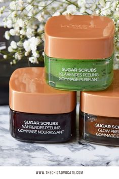 Sugar Scrubs L'Oreal Review Test