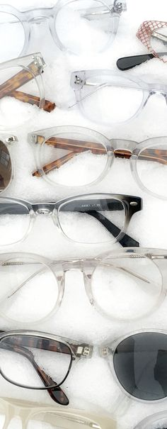 Crisp in the winter, cool in the summer. Crystal clear reading glasses and eyeglass frames.
