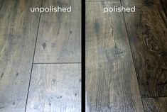 Homemade Floor Polish Recipe How to create a DIY wood, concrete, ceramic and linoleum floor shiner from common household ingredients. click the image or link for more info. Old Wood Floors, Cleaning Wood Floors, Hardwood Floors, Shine Wood Floors, Floor Cleaning, Modern Flooring, Diy Flooring, Flooring Ideas, Wood Floor Polish