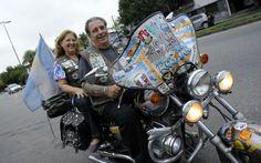"""""""Para los que amamos viajar en moto, la edad no es ningún problema""""."""