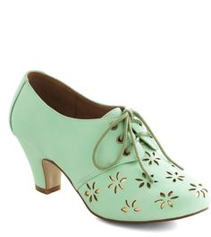 Solar Powerful Heel in Mint on shopstyle.com