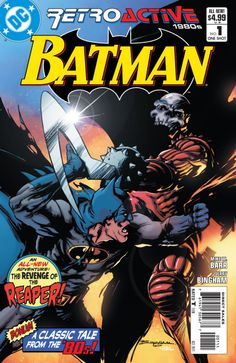 DC Retroactive: Batman - The - The Revenge of The Reaper! Batman Year Two, Chapter One: Fear The Reaper (Issue) Batman Superman Comic, Batman Comics, Dc Comics, Comic Books For Sale, Comic Books Art, Book Art, Marvel Cartoon Movies, Robin Comics, Hq Marvel