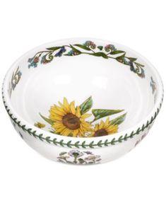 Portmeirion Dinnerware Botanic Garden Sunflower Salad Bowl | macys.com