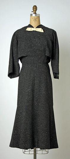 Dress Jean Dessès Date: spring/summer 1954 Culture: French Medium: wool
