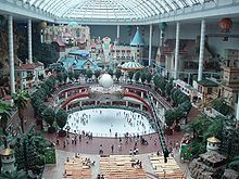Lotte World - Indoor Amusement Park, in the Lotte Department Store. South Korea!