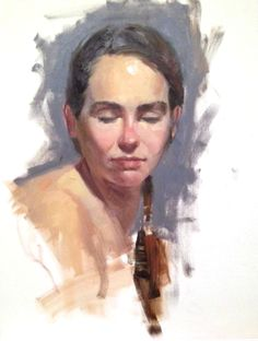 Rachel, life study from my day at the Art Students League of New York with Max Ginsburg