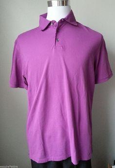 Peter Millar men size M #POLO style short sleeve shirt light purple PeterMillar visit our ebay store at  http://stores.ebay.com/esquirestore