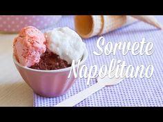 Sorvete Napolitano Vegano - YouTube
