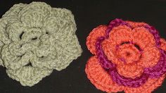 Ravelry: Crochet Flower - 3 Rounds pattern by Teresa Richardson