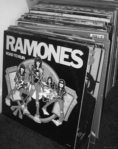 Punks on vinyl #ramones #vinyl #records