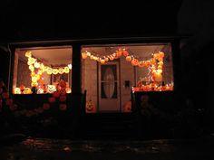 Outside Halloween Decorations, Halloween Porch, Halloween Pumpkins, Pumpkin Jack, Blow Molding, Bar Mitzvah, Brewing, Awesome, Werewolf
