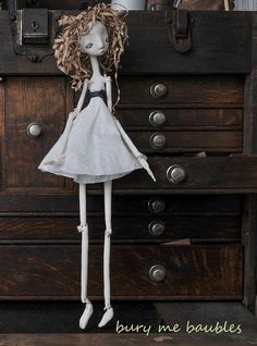 L laments Lilith OOAk handmade Art Doll by burymebaubles on Etsy, $70.00