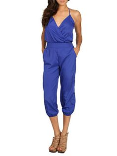I can't wait to get this jumpsuit-Surplice Harem Jumpsuit from ArdenB.com