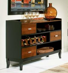 Coaster Boyer 3 Drawer Buffet Server in Two-Tone Cherry and Black by Coaster Home Furnishings, http://www.amazon.com/dp/B004H9JET8/ref=cm_sw_r_pi_dp_n6IYqb1WB183Z