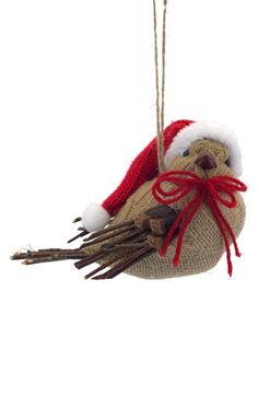 Melrose Gifts 'Santa's Little Birdies' Ornament available at #Nordstrom