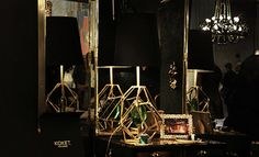 @KOKET Love Happens with Gem Table Lamp at Maison et Objet 2014 http://www.bykoket.com/projects.php
