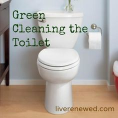 Green Cleaning the Toilet