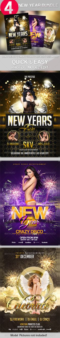2 graphicriver 3x new year flyer bundle vol 2 this 3x new year flyer bundle vol 1 contains party flyer for following themes nye flyer