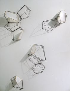 Mapping the Dispersal Wall Installation, Sarah West Designs