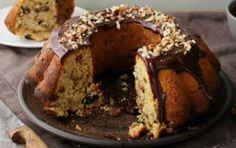 Egg-free, dairy-free cake with tahini - iCookGreek Greek Sweets, Greek Desserts, Vegan Desserts, Sweet Recipes, Cake Recipes, Greek Cake, Cypriot Food, Sweet Cooking, Cake Mixture