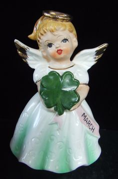 Vintage Japan March Birthday Angel Doll #0-152