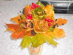 Kytička zo suchých listov (fotopostup)