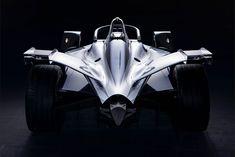2018年末からフォーミュラE参戦のニッサン、マシンカラーリングコンセプトをジュネーブで世界初公開