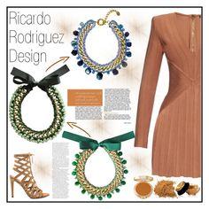 """Ricardo Rodriguez Design 5"" by gaby-mil ❤ liked on Polyvore featuring Balmain, ALDO, Viktor & Rolf, Yves Saint Laurent and ricardorodriguezdesign"