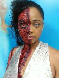 Beauty Schools of America - Comprehensive Makeup Program - Horror FX Course.