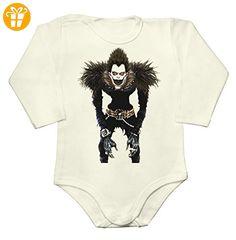 Ryuk Baby Long Sleeve Romper Bodysuit Extra Large - Baby bodys baby einteiler baby stampler (*Partner-Link)