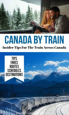 Canada by train insider tips for the train across canada how to see Canada by train what to know before the train trip across canada Via rail Canada train canadian train trips best things to do in Canada Alberta Canada, Visit Canada, Canada Canada, Canada Funny, Canada Trip, Info Canada, Canada Goose, Train Rides, Train Trip