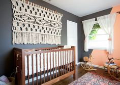 """2013. 40"""" x 66"""". Cotton Rope. Created for BASH, Please Interiors. Photo byShade Degges."""