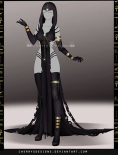 (closed) Outfit Adopt 696 - Osiris by CherrysDesigns.deviantart.com on @DeviantArt