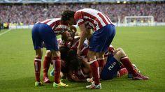 Celebrando el gol de Godín #Atleti #FinalChampions