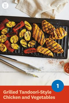 Grilled Tandoori-Style Chicken and Vegetables f28198b884e4