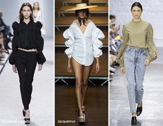 Spring/ Summer 2017 Fashion Trends: Cinched Sleeves