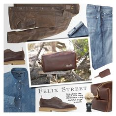 """FELIX STREET - Be the best man you can be"" by an1ta ❤ liked on Polyvore featuring 7 For All Mankind, Timberland, Uniqlo, Thom Browne, MiN New York, vintage, men's fashion and menswear"