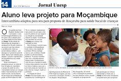 Aluno leva projeto para Moçambique