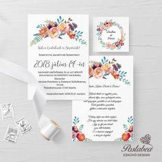 barackos rózsás esküvői meghívó Place Cards, Place Card Holders, Weddings, Frame, Decor, Decoration, Decorating, Wedding, A Frame