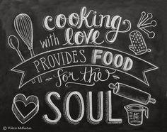 Cuisiner: une démarche spirituelle posted byL'Art de la...