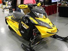 XRS Ski-doo MXZ Snowmobile