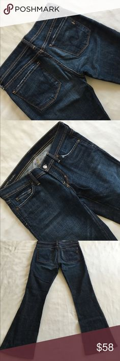 """Citizens of humanity Ingrid #002 stretch low waist Low waist flare 31"""" length Citizens of Humanity Jeans"""
