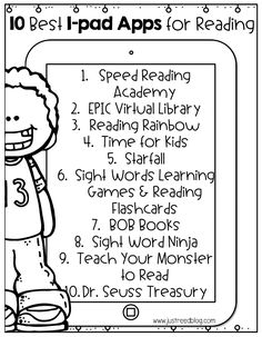 Top Ten Reading Apps for Kindergarten through Second Grade - ipad - Ideas of ipad - Grab a printable list of the best ipad apps to share with parents. These apps are perfect for the classroom too! Kindergarten Reading, Teaching Reading, Guided Reading, Teaching Ideas, Reading Fluency, Teaching Spanish, Teaching Abcs, Reading School, Stem Teaching