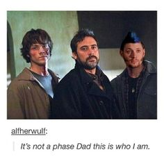 """#Supernatural """"this is who I am"""" .. hahaha .. Jensen Ackles <3"""